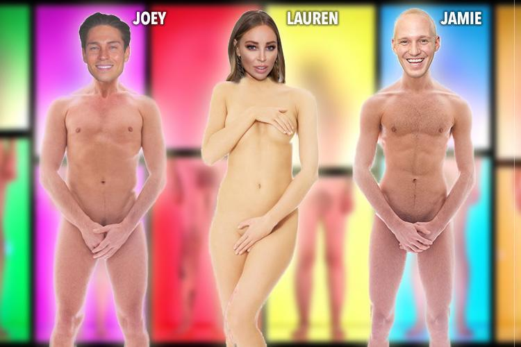 Male reality tv stars nude are not