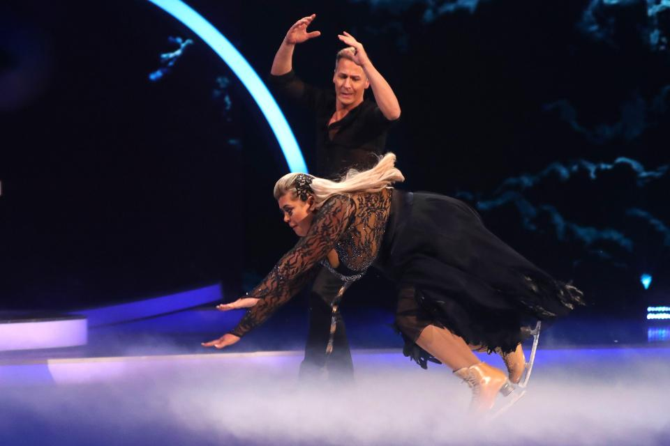 Gemma Collins' Dancing on Ice fall 'caused by Second World War